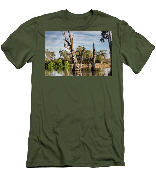 Contrasted Men's T-Shirt (Slim Fit) by Douglas Barnard
