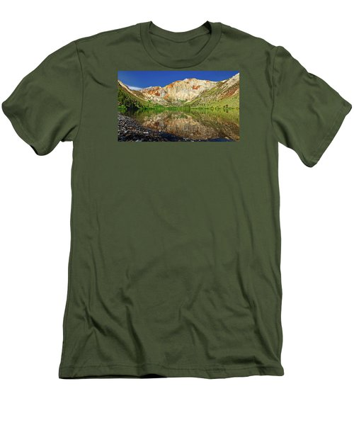 Convict Lake Men's T-Shirt (Slim Fit) by Rick Furmanek