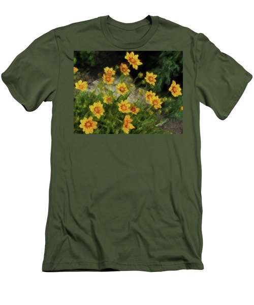 Coreopsis Tickseed Men's T-Shirt (Athletic Fit)