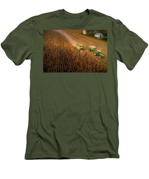 Corn Dust Men's T-Shirt (Athletic Fit)