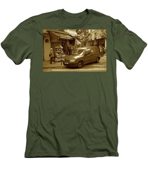 Corner Delivery Men's T-Shirt (Athletic Fit)