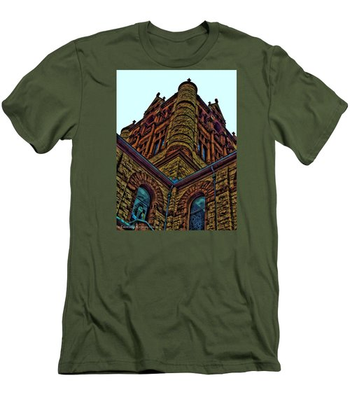 Cornered Men's T-Shirt (Athletic Fit)