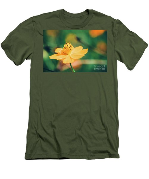 Men's T-Shirt (Athletic Fit) featuring the photograph Cosmos  by Andrea Anderegg