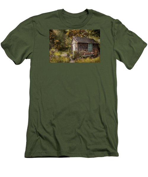 Men's T-Shirt (Slim Fit) featuring the photograph Country Blessings by Robin-Lee Vieira