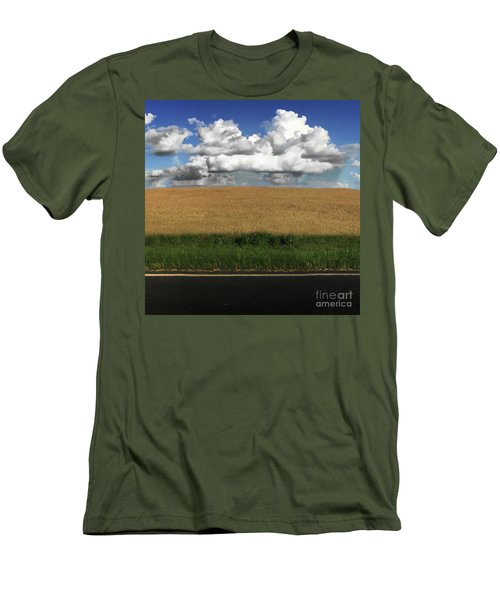 Men's T-Shirt (Slim Fit) featuring the photograph Country Field by Brian Jones