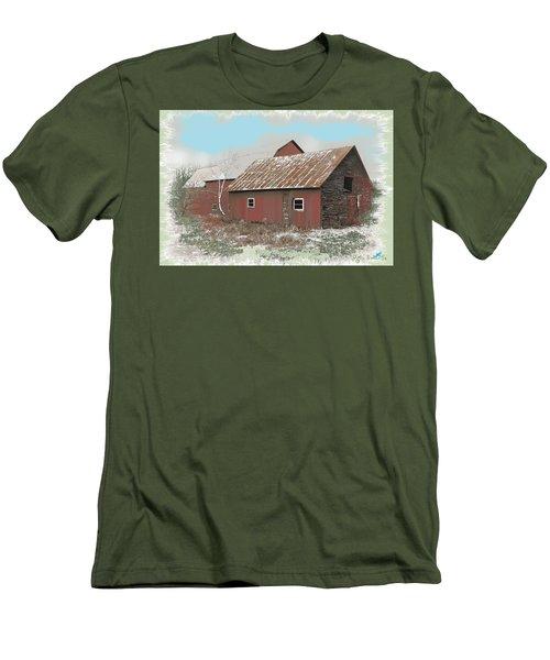 Coventry Barn Men's T-Shirt (Slim Fit) by John Selmer Sr