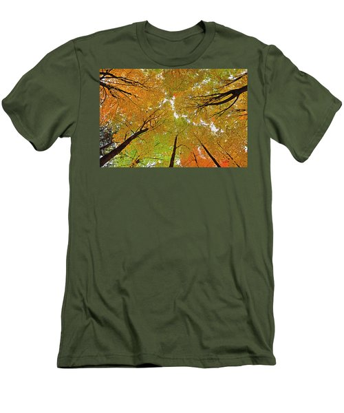 Men's T-Shirt (Slim Fit) featuring the photograph Cover Up by Tony Beck