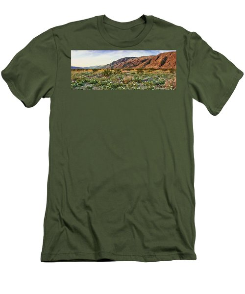 Coyote Canyon Sweet Light Men's T-Shirt (Slim Fit) by Daniel Hebard