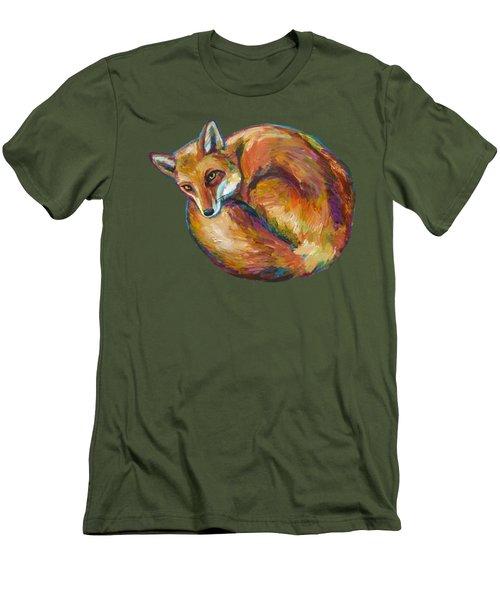Coziest Fox Men's T-Shirt (Athletic Fit)
