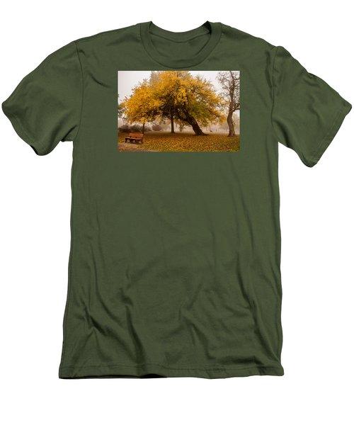 Cozy Men's T-Shirt (Slim Fit) by Joe Scott
