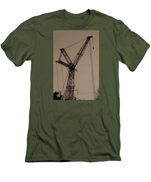 Crane's Up Men's T-Shirt (Athletic Fit)