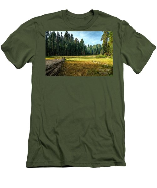 Crescent Meadows Sequoia Np Men's T-Shirt (Athletic Fit)