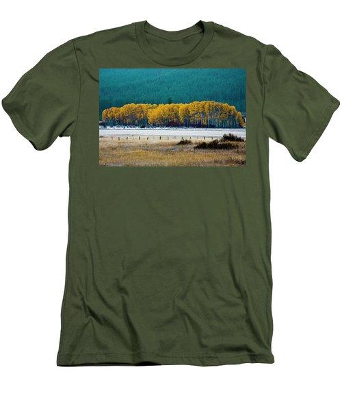 Crisp Aspen Morning Men's T-Shirt (Athletic Fit)