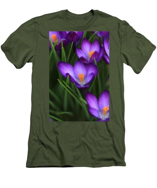 Crocus Vividus Men's T-Shirt (Athletic Fit)
