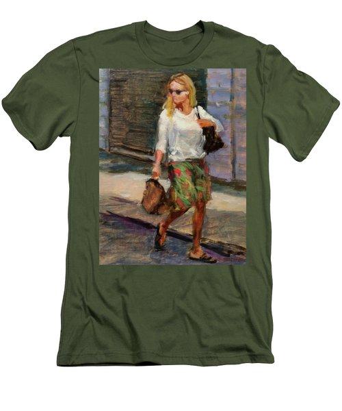 Crossing Adams Street Men's T-Shirt (Athletic Fit)