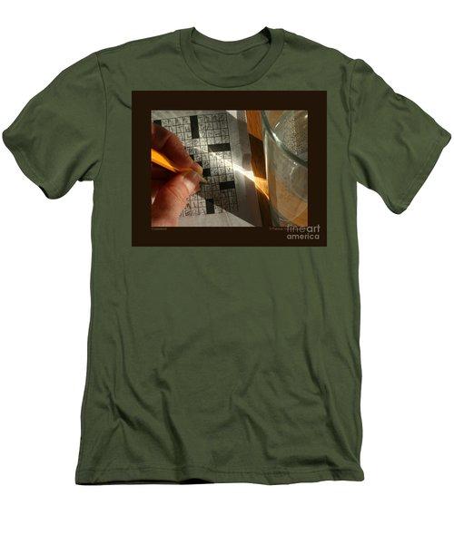 Crossword Men's T-Shirt (Athletic Fit)