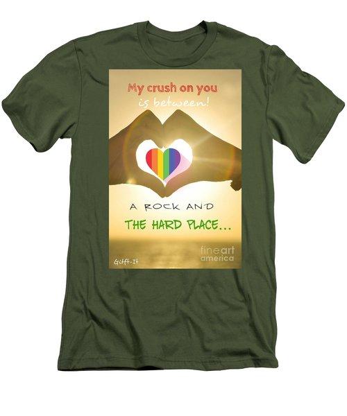 Crush  Men's T-Shirt (Athletic Fit)
