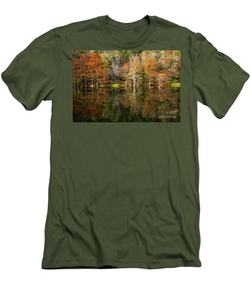 Men's T-Shirt (Slim Fit) featuring the photograph Crystal Clear by Iris Greenwell