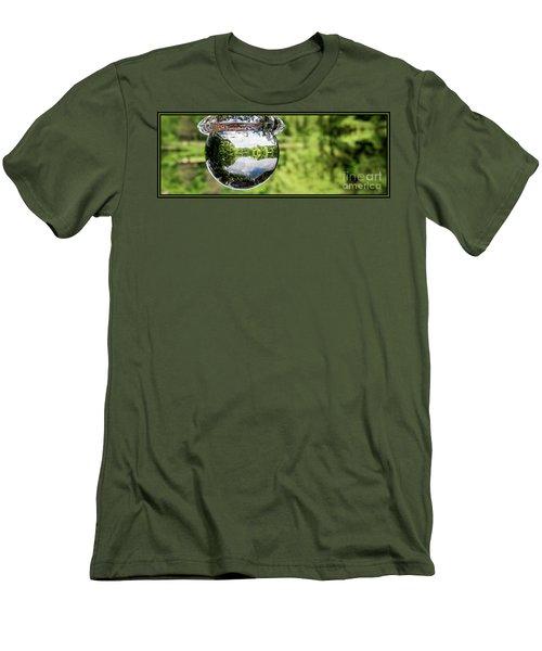 Crystalized Drop Men's T-Shirt (Slim Fit)