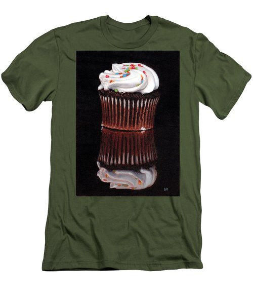 Cupcake Reflections Men's T-Shirt (Athletic Fit)