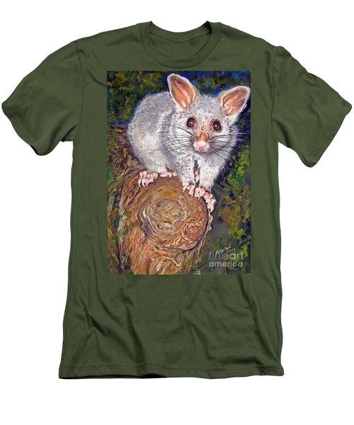 Curious Possum  Men's T-Shirt (Athletic Fit)
