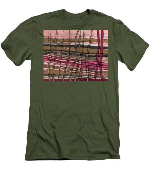 Stalks At Sunset Men's T-Shirt (Slim Fit) by Sandra Church