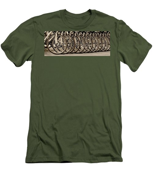 Cycles Men's T-Shirt (Slim Fit) by Joe Bonita