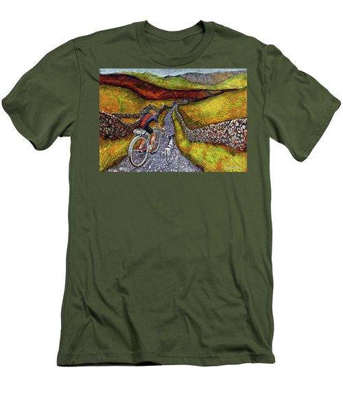 Lancashire Lanes II Men's T-Shirt (Slim Fit) by Mark Jones
