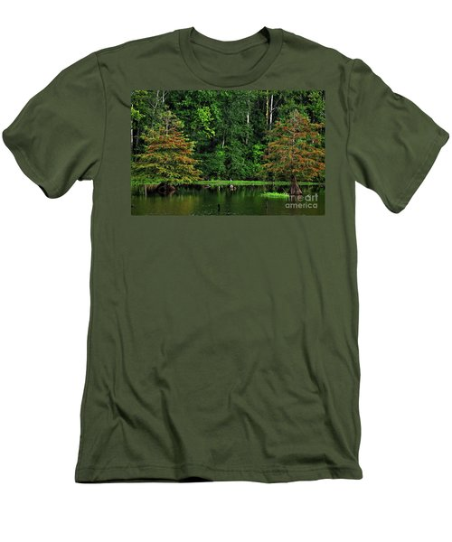 Cypress Frame Men's T-Shirt (Athletic Fit)
