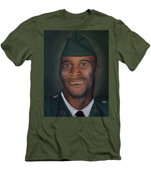 Dad Men's T-Shirt (Slim Fit) by Angelo Thomas