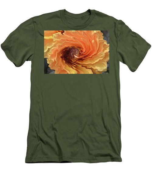 Dahlia Men's T-Shirt (Slim Fit) by Debby Pueschel