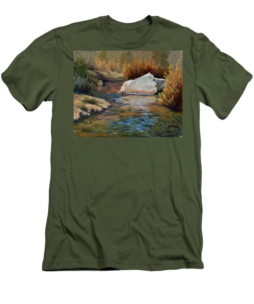Dance Of Light On Bishop Creek Men's T-Shirt (Athletic Fit)