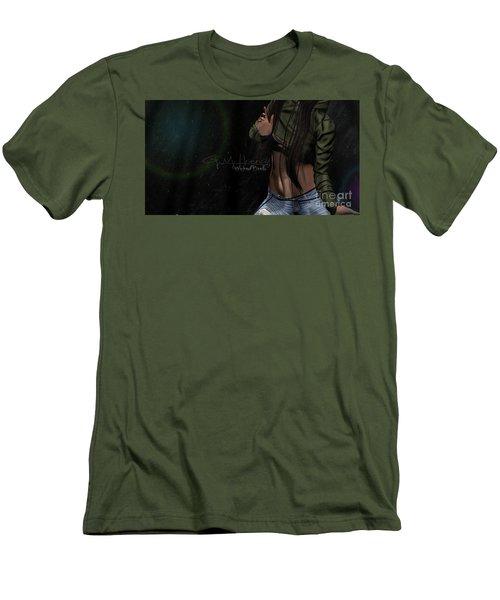 Dancing In The Rain 1 Men's T-Shirt (Athletic Fit)