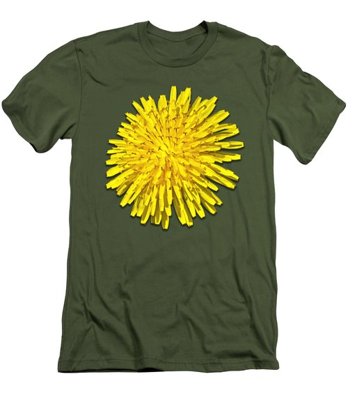 Dandelion 2 Men's T-Shirt (Slim Fit) by Bob Slitzan