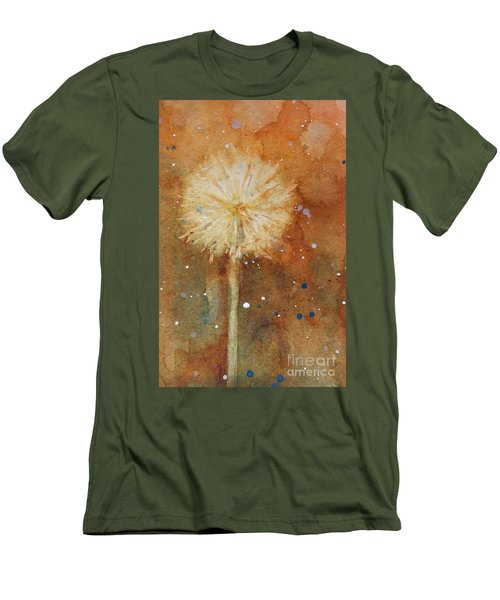 Dandelion Clock 1 Men's T-Shirt (Athletic Fit)