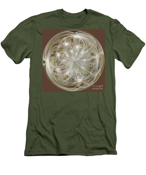 Dandelion Fluff Orb Men's T-Shirt (Athletic Fit)