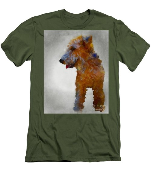 Darby Dog Men's T-Shirt (Athletic Fit)