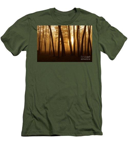 Dark Forest Men's T-Shirt (Slim Fit) by Terri Gostola