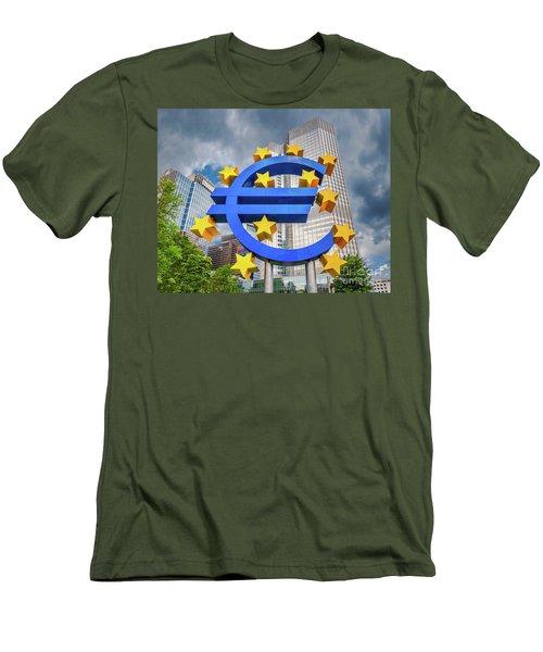 Money Troubles Men's T-Shirt (Slim Fit) by JR Photography