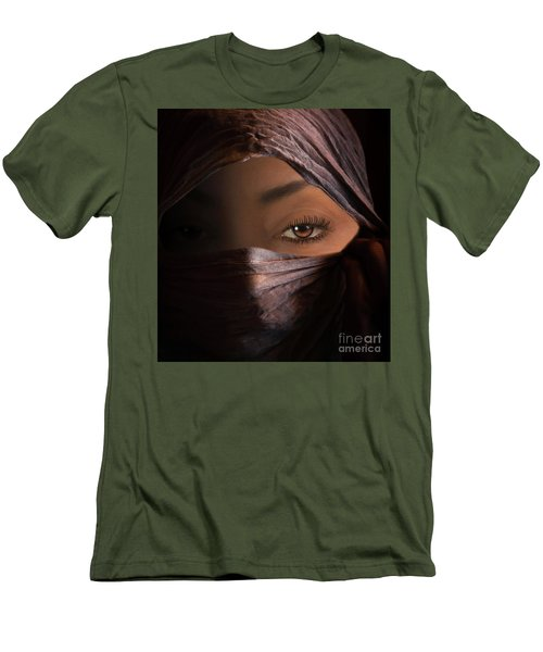 Men's T-Shirt (Slim Fit) featuring the photograph Dark Secrets by Jim  Hatch