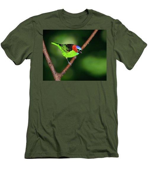 Dark To Light Men's T-Shirt (Slim Fit) by Tony Beck