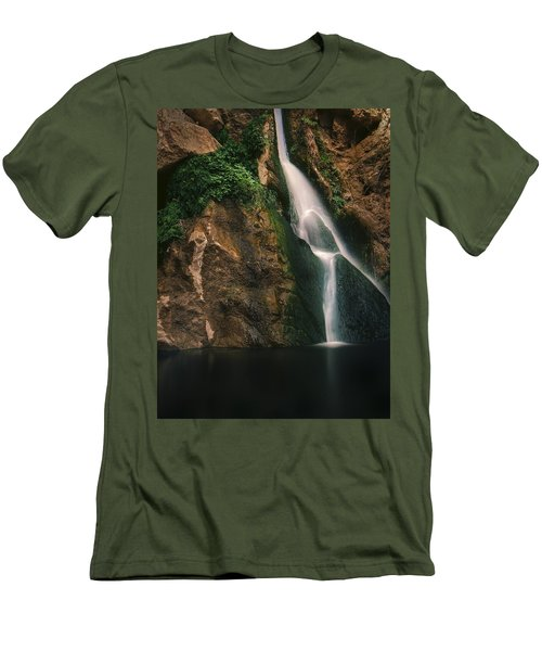 Darwin Falls - Death Valley Men's T-Shirt (Athletic Fit)