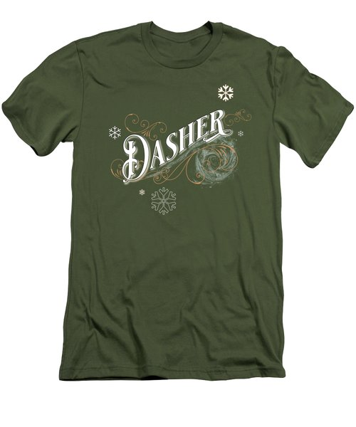 Dasher Men's T-Shirt (Athletic Fit)
