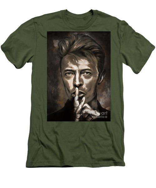 David Men's T-Shirt (Slim Fit) by Andrzej Szczerski