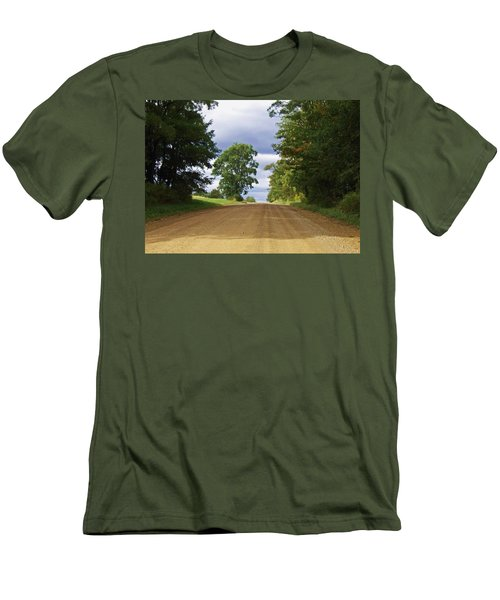 Davis Hill Rd. Men's T-Shirt (Athletic Fit)