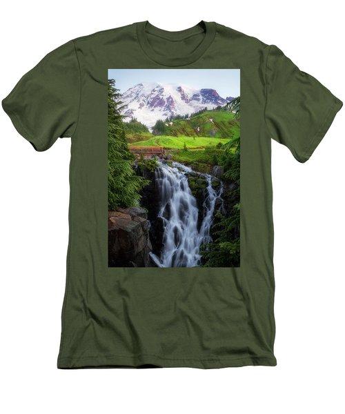 Dawn At Myrtle Falls Men's T-Shirt (Athletic Fit)