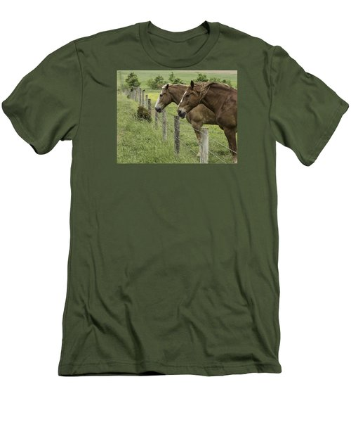 Day Dreamers Men's T-Shirt (Slim Fit) by Elizabeth Eldridge