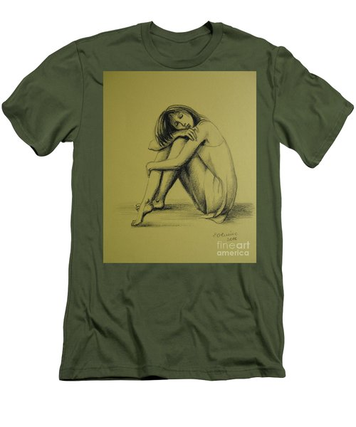 Day Dreaming Men's T-Shirt (Slim Fit) by Elena Oleniuc