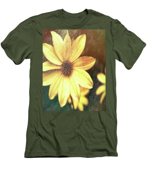 Day Lily Men's T-Shirt (Athletic Fit)
