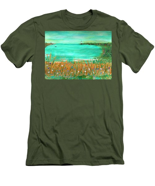 Dayatthebeach Men's T-Shirt (Athletic Fit)